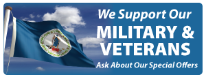 we support our military and veterans special offers united states virginia